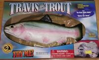 Travis The Singing Trout Animated Fish Wall Mount by Gemmy 1999 RARE