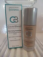EXUVIANCE SKIN CARING FOUNDATION SPF 20 TRUE BEIGE 1 OZ NEW PACKAGING