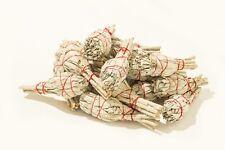 "California Mini White Sage Smudge Incense 3""-4"" Bundle (20 pcs)"