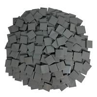LEGO 2x2 Fliesen Dunkelgrau - 250 Stück - (Classic,Star Wars usw.) 3068b Kacheln