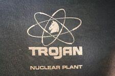 Trojan Nuclear Plant Vinyl Portfolio Bag Document Case Faux Leather