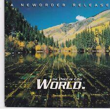 World-The Price Of Love cd single