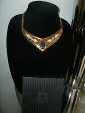 "AVON 1993 New In Box! ""Venetian Style Collection"" Collar Necklace Stunner! NOS!"