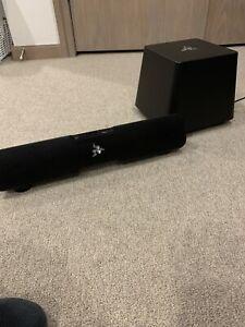 Razer Leviathan 5.1 Sound bar And Sub (broken)