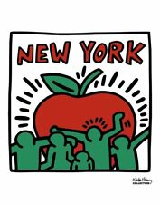 Untitled, 1989 by Keith Haring Art Print New York Big Apple NYC Poster 11x14