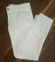 American Rag Cie Women's Skinny Jeans White Stretch Junior's Size 9R