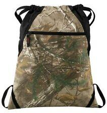 Realtree Xtra® Camo String Drawstring Back Pack Cinch Sack Gym Tote Bag Travel