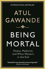 Being Mortal by Atul Gawande Paperback Book   NEW & Free Shipping