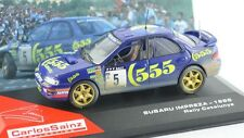 1/43 SUBARU IMPREZA WRC CARLOS SAINZ RALLY CATALUNYA 1995 IXO ALTAYA DIECAST