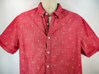 Cactus Man By ricky Singh Men's Shirt, XL Slim Fit, Pre-owned, Short Sleeve