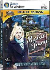 MOTOR TOWN SOUL OF THE MACHINE Deluxe Ed Hidden Object PC Game Viva Media NEW