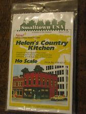 "Smalltown USA HO #699-6012  Helen's Country Kitchen 2-3/4 x 5"" 7 x 12.8cm"