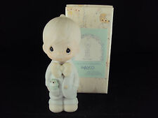 Precious Moments Figurine, #E-2836, Best Man, Dove Mark