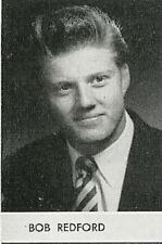 ROBERT REDFORD DON DRYSDALE High School Yearbook SENIOR