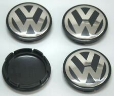 Genuine Volkswagen Beetle Jetta Golf Wheel Center Hub Caps Covers 4pcs 56mm