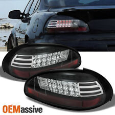 Black 1997-2003 Pontiac Grand Prix Philips LumiLEDs LED Perform Tail Lights Set