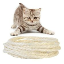 Sisal Rope For Cat Scratching Post Replacement Claw Control Toys Pets Cord Fiber