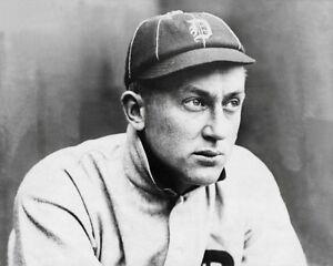 Ty Cobb Photo 8X10  - Detroit Tigers 1910