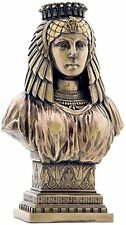 "8.25"" Egyptian Queen Bust Egypt Home Decor Statue Figure Sculpture"