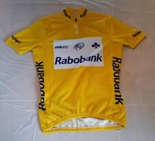 AGU Bike Gear Rabobank Tour De France Winner Jersey Medium Yellow HTF