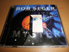 BOB SEGER & the SILVER BULLET BAND cd IT'S A MYSTERY lock and load hands in air