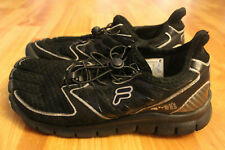 FILA SKELETOES AMP Youth RUNNING SHOES 3PK14023-010 Size 5.5 Black