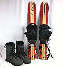 SNOWBLADES, SHORT ,Five-Forty 90cm Titan,with Board Factory bindings and boots
