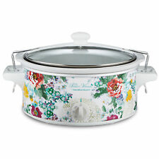 Pioneer Woman 6qt Portable Slow Cooker Country Floral Hamilton Beach Crock Pot