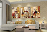 CHENPAT61 pretty art abstract ballet oil painting 100% hand-painted on canvas