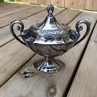 1847 Rogers Bros  ETERNALLY YOURS Silverplate Sugar Bowl With Lid