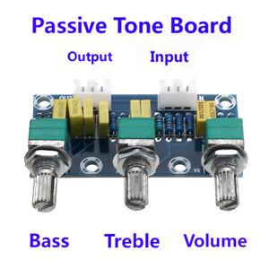 XH-M802 Passive Tone Volume Bass Treble Control Board Preamplifier Module US