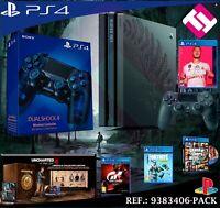 PS4 PLAYSTATION 4 PRO 1TB THE LAST OF US UNCHARTED GT FORNITE GTAV FIFA 2 MANDOS