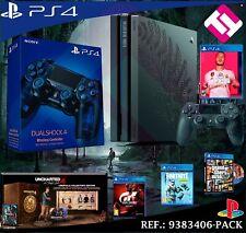 Sony PlayStation 4 Pro The Last of Us Parte II Edición Limitada 1TB Consola - Gris Oscuro