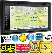 NESA TOUCHSCREEN CD/DVD GPS NAVIGATION BLUETOOTH USB CAR STEREO