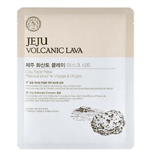 [The FACE Shop] Jeju Volcanic Lava Clay Face Mask 1ea