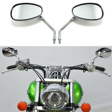 For Honda VTX1300 VTX1800 Shadow Aero 750 1100 Chrome Motorcycle Mirrors 10mm HG