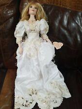 """Vintage Franklin Mint- Maryse Nicole"""" Bride Doll"""