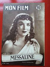 1952 mon film n°306 MARIA FELIX  dans MESSALINE