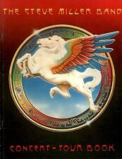 STEVE MILLER 1977 BOOK OF DREAMS TOUR CONCERT PROGRAM BOOK BOOKLET / NMT 2 MNT