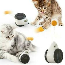 New Fun Interactive Cat Toys Automatic Rotating for Kitten W/ Teasing ball