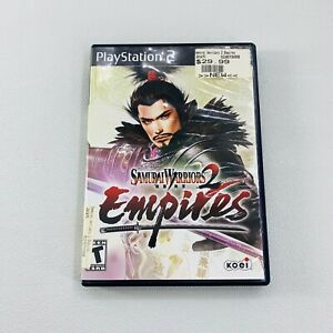 Playstation 2 PS2 Samurai Warriors 2 Empires Koei Case Only NO GAME/MANUAL