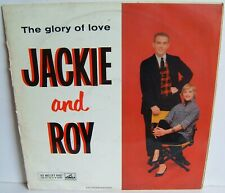 Jackie And Roy - The Glory Of Love CLP 1219 UK LP 1st Press 1956 HMV