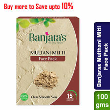 Banjaras Multhani Mitti Fullers Earth Face Pack 100g