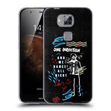 Fundas y carcasas Huawei color principal negro para teléfonos móviles y PDAs Huawei