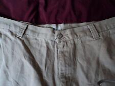 Mens ~Dockers Shorts ~ Cotton Flat Front Casual ~ SZ 42 ~ Beige ~    AS PANT