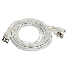 Zxtech 5M White Pre-Made RG59 Siamese Cable
