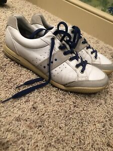 Ecco mens golf shoes size 10. White. High Quality And Comfortable