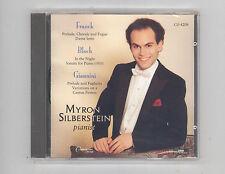 (CD) Silberstein plays Franck, Bloch and Giannini / Myron Silberstein / SEALED