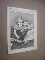 1875. INFANT'S MAGAZINE. ORIGINAL VICTORIAN CHILDREN'S PAPER. SINGLE ISSUE no118