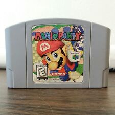 Mario Party 1 Nintendo N64 Cart Only cleaned tested Game, everyone esrb